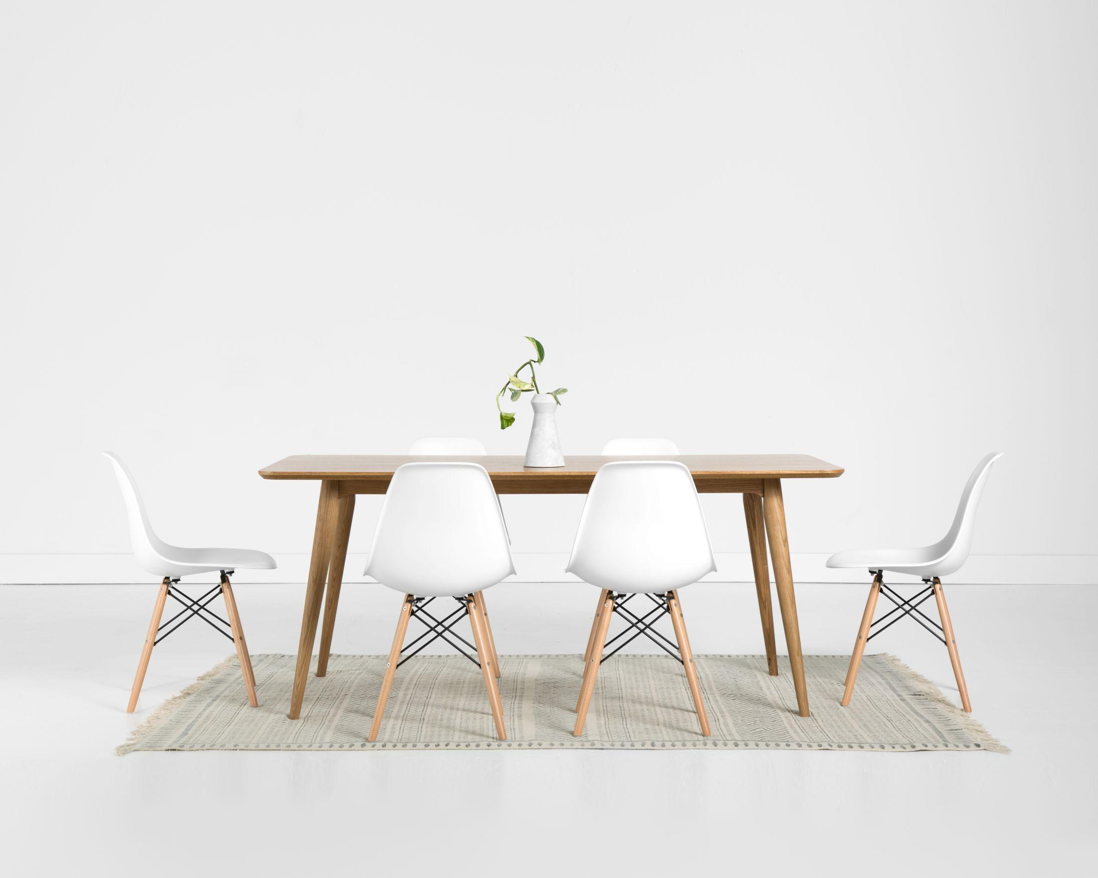 Rectangular Sven Dining Table 7 Piece Dining Set