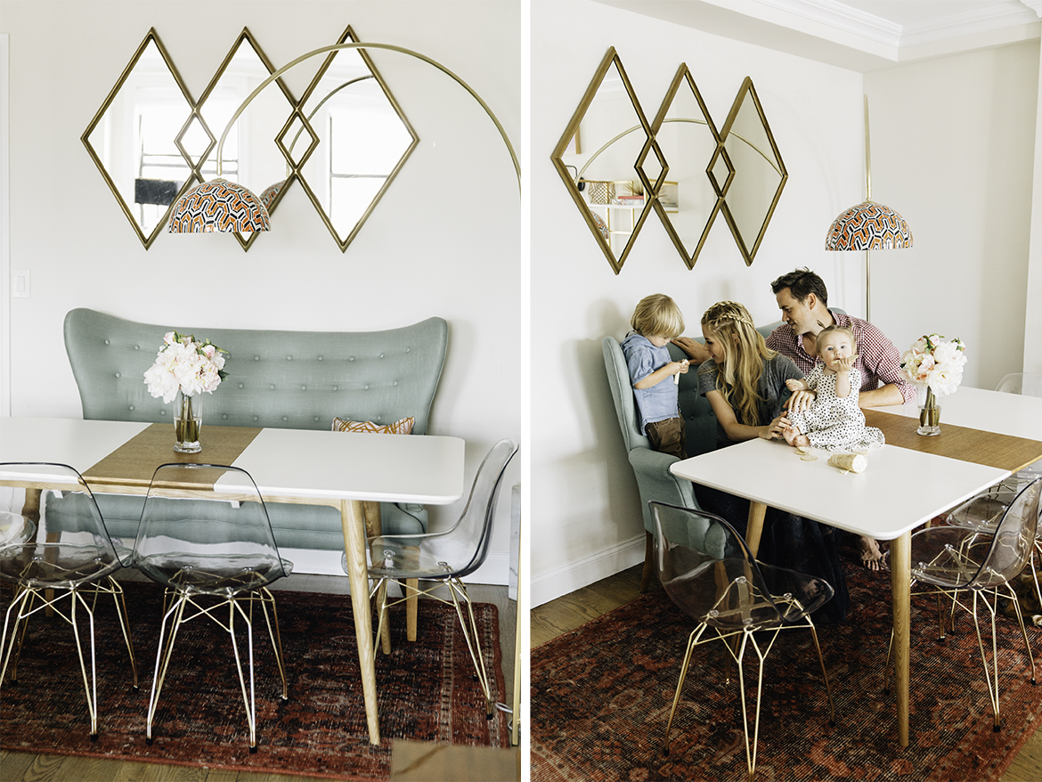 This Table Can Be Dressed Up Or Down See How Interior Design Becki Owens Pairs The Marcus Dining With Vintage Vibrate Colors For Amber Fillerup