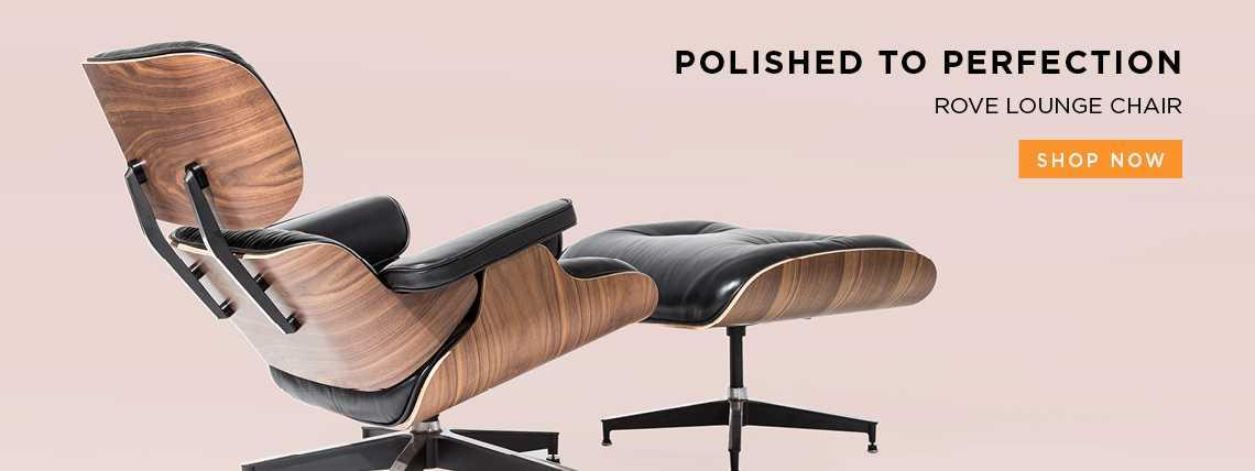 Shop Rove Lounge Chair & Ottoman