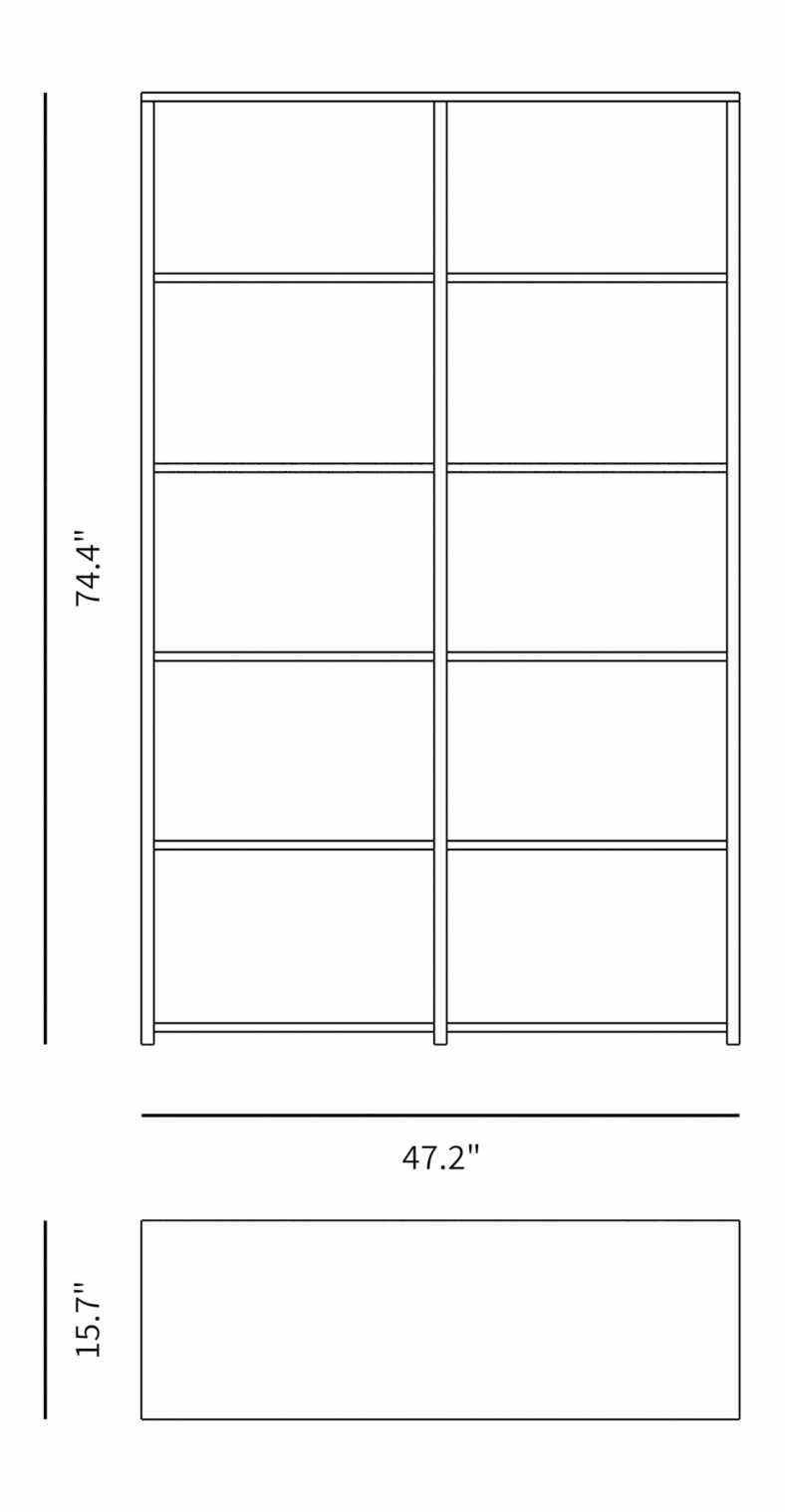 Dimensions for Hanne Display Unit