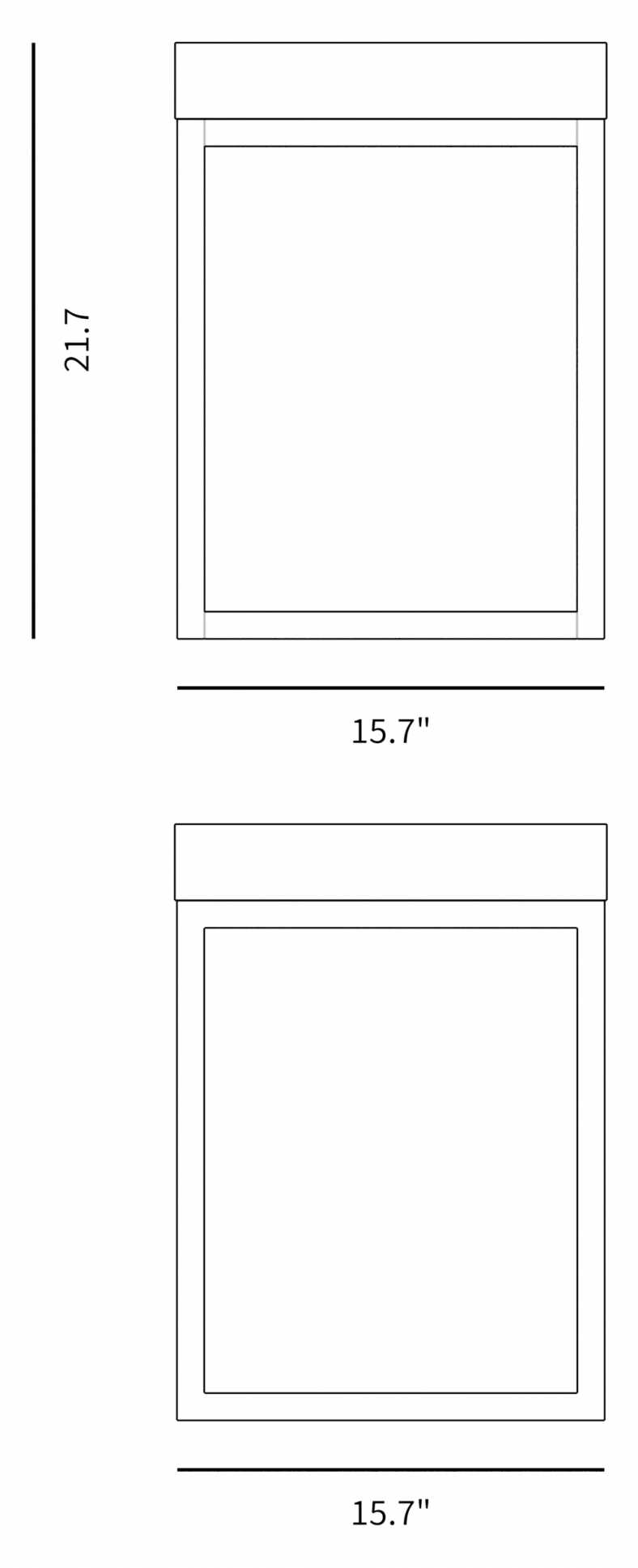 Dimensions for Lasse Side Table