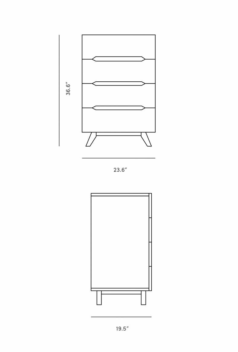 Dimensions for Mikkel Dresser