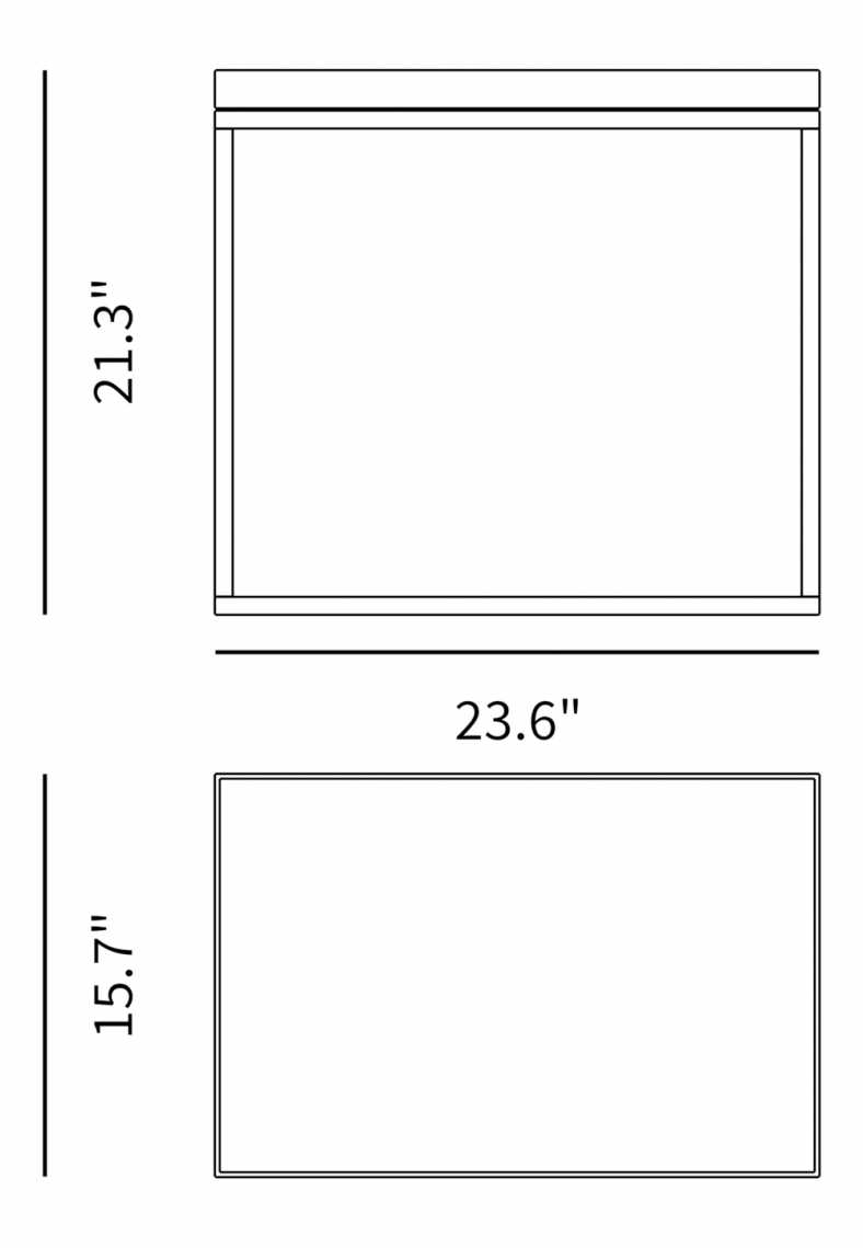 Dimensions for Sienna Side Table