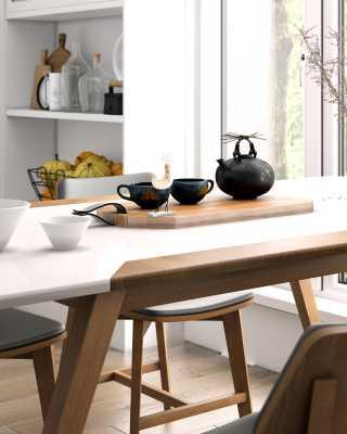 8ec741db0085 Marcus Dining Table | Mid-Century Modern | Scandinavian Collection