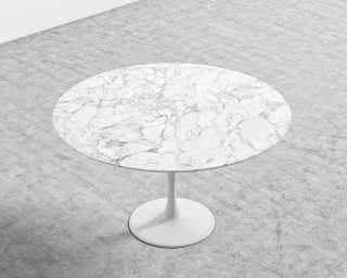 Tulip Table Round Marble Reproduction Rove Concepts