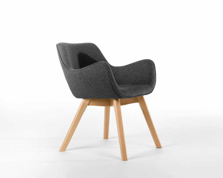 A310H Space Dining Chair Mid Century Modern