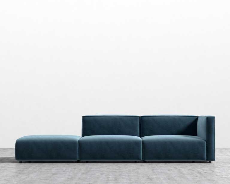 Arya Modular Sofa With Open End Rove Concepts