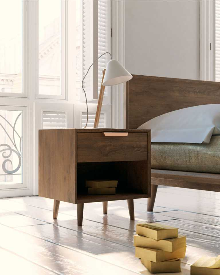 Asher Single Drawer Night Stand