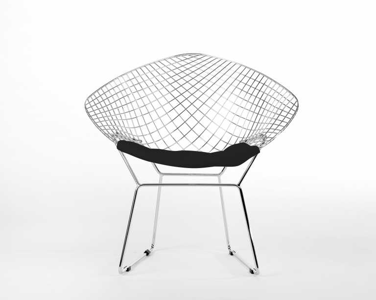 Bertoia diamond chair black - Rove Classics