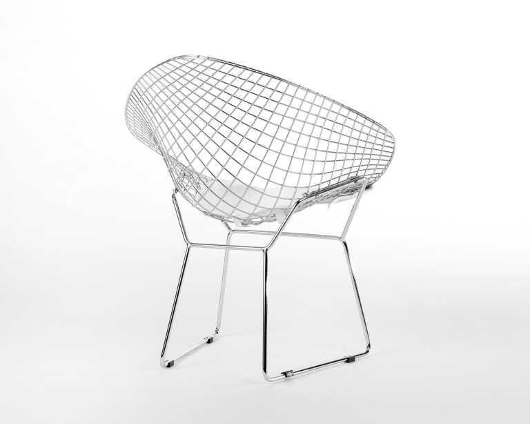 Bertoia diamond chair dimensions - Rove Classics