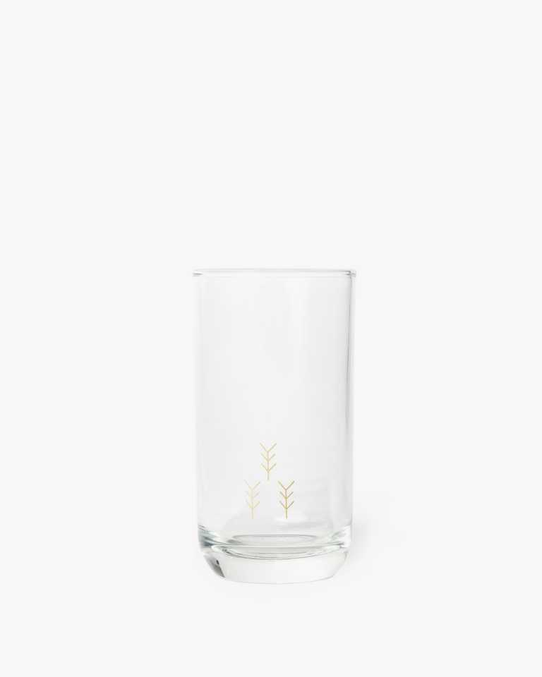 Decorated Highball Glass - Arrow