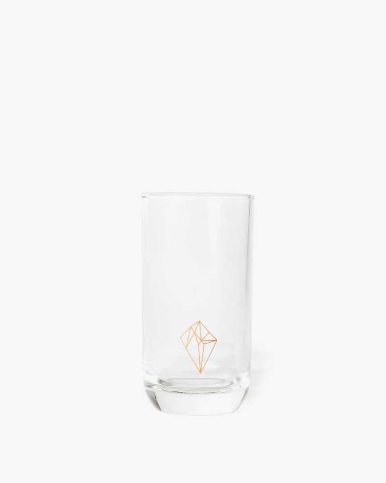 Decorated Highball Glass - Diamond