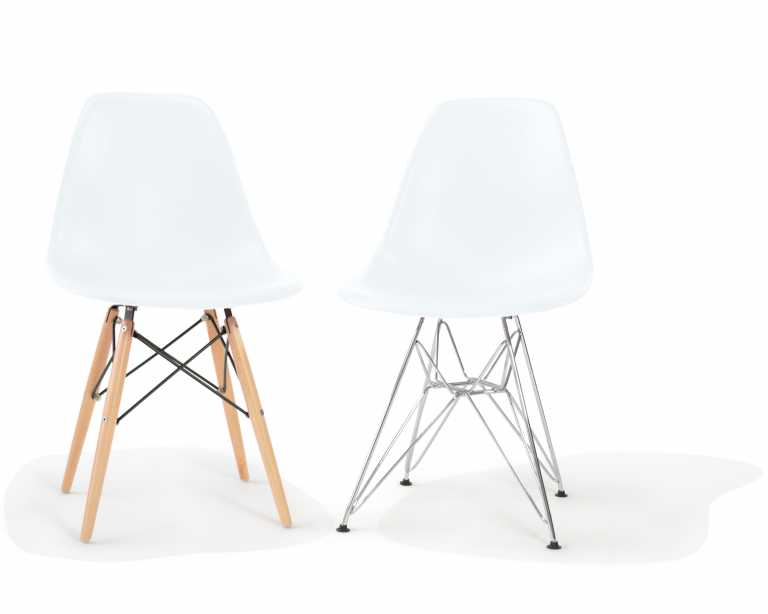 ... DSR Molded Plastic Side Chair. Rove Classics