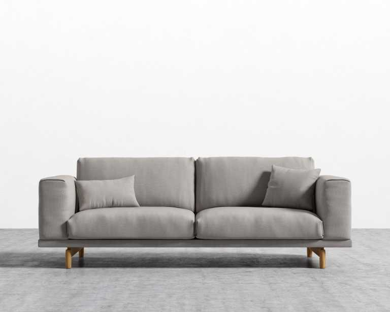 Elliott Sofa Modern Three Seater Rove Concepts