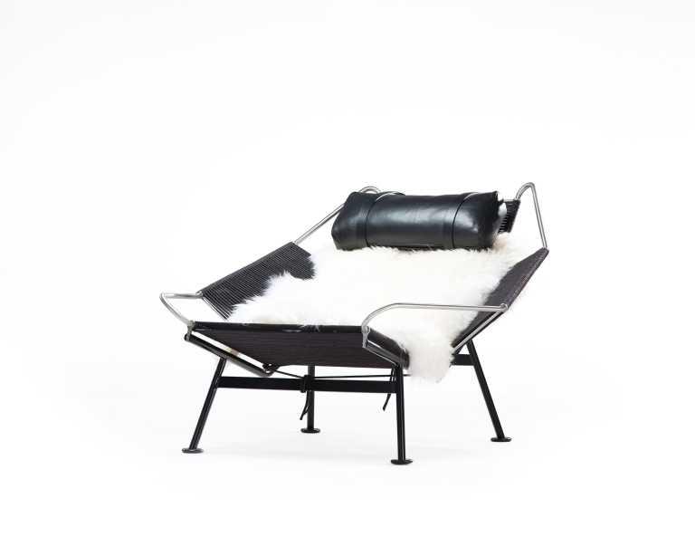 Flag Halyard Chair Black Edition
