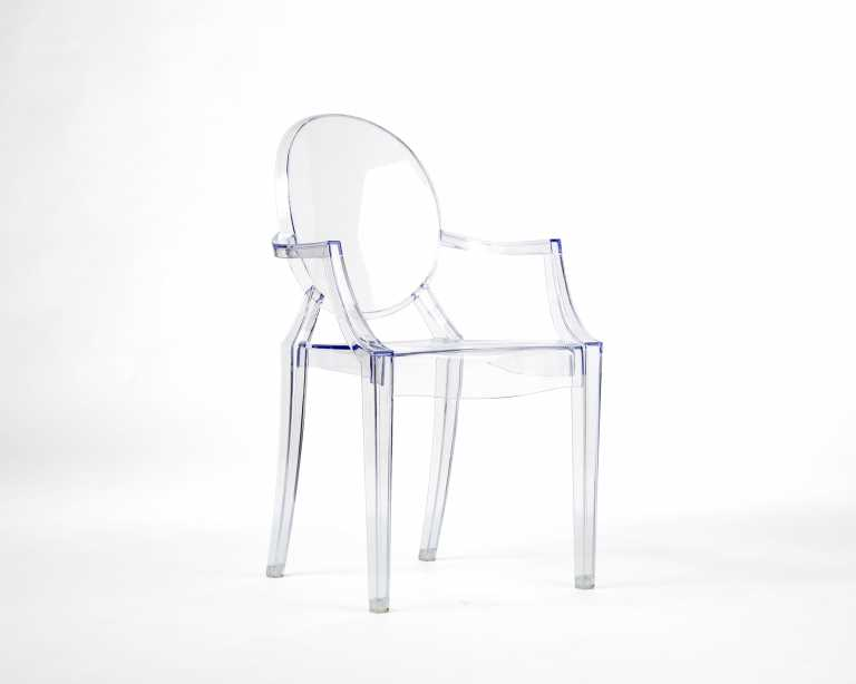 Louis Ghost Armchair Philippe Starck Reproduction