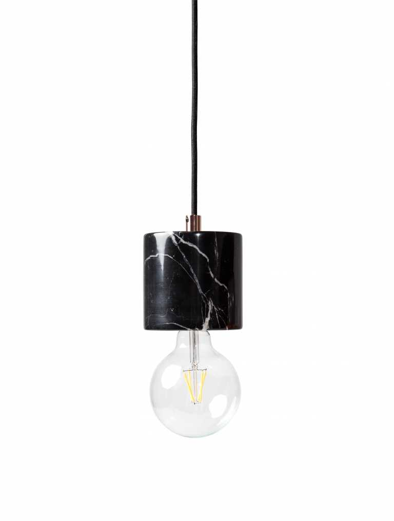 pendant lighting black. pendant lights bare bulb marble black kure lighting