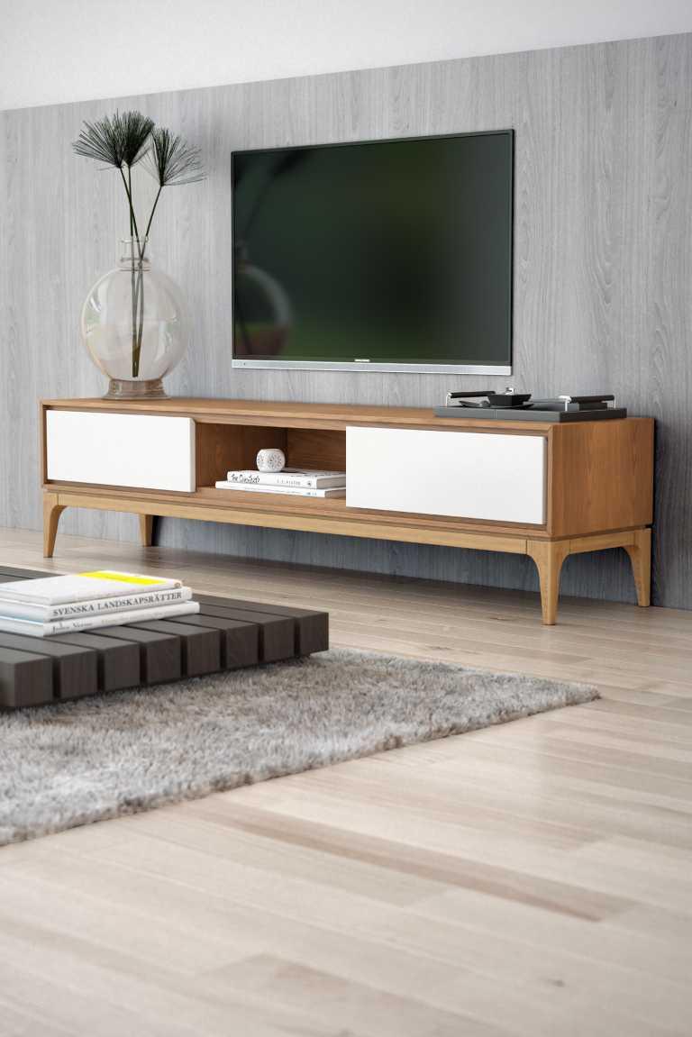 joren tv stand  mid century modern  kure collection - kure