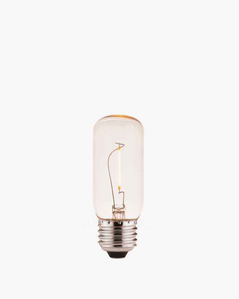 LED Vintage Edison Light Bulb - Tall - Amber
