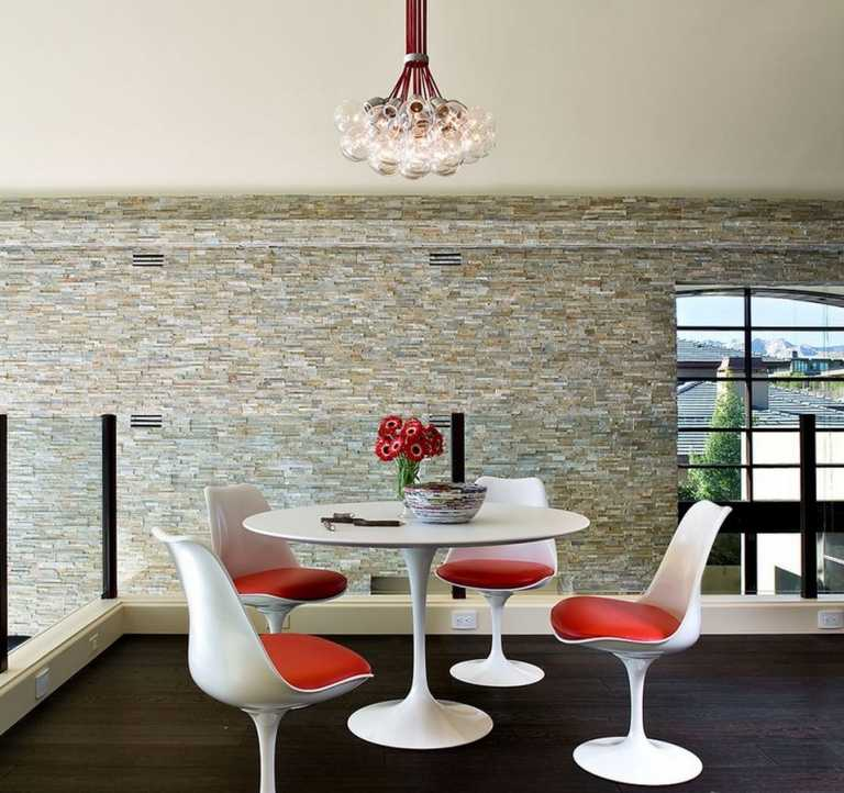 Saarinen Table Eero Style Oval Tulip Marbletop