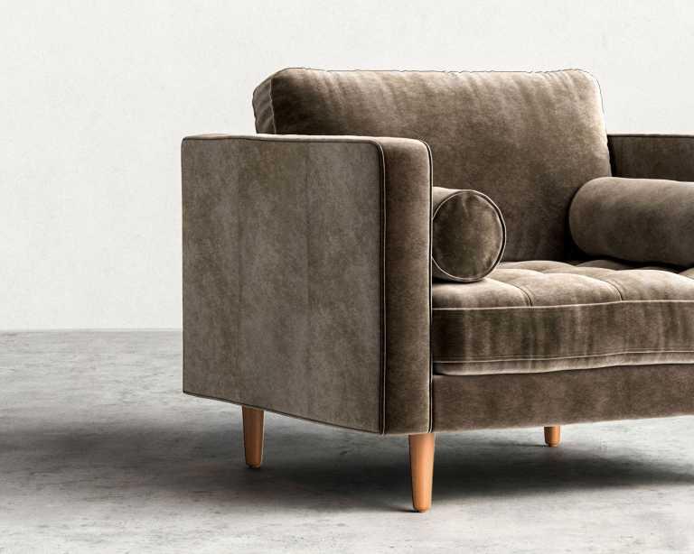 Luca Armchair Mid Century Modern Armchair