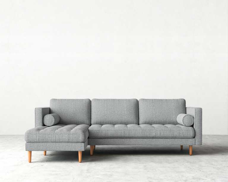 Luca Sofa Sectional Mid Century Modern Sectional