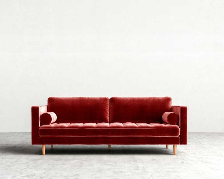 Luca Sofa Mid Century Modern Sofa