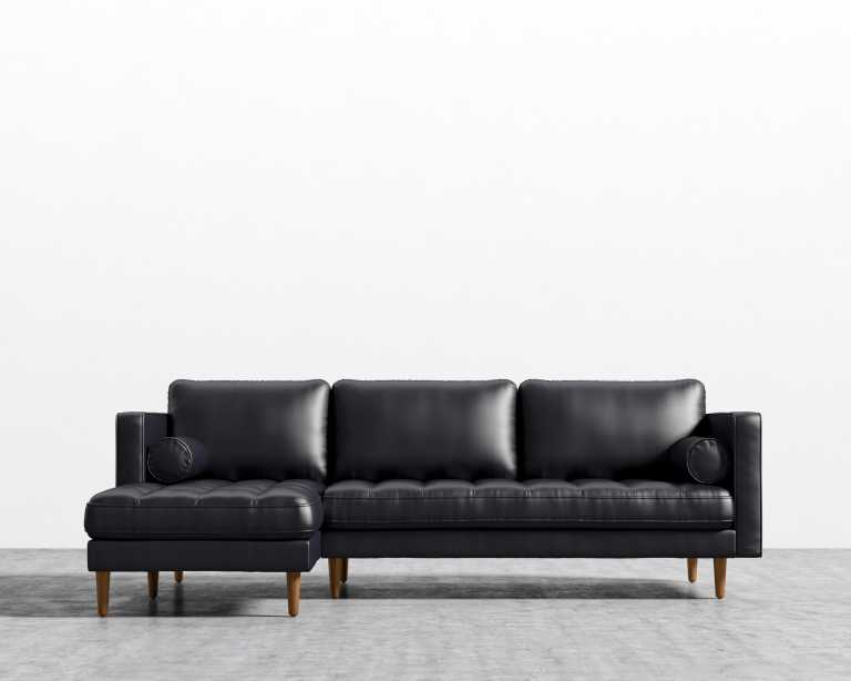 Order ...  sc 1 st  Rove Concepts : white and black sectional - Sectionals, Sofas & Couches