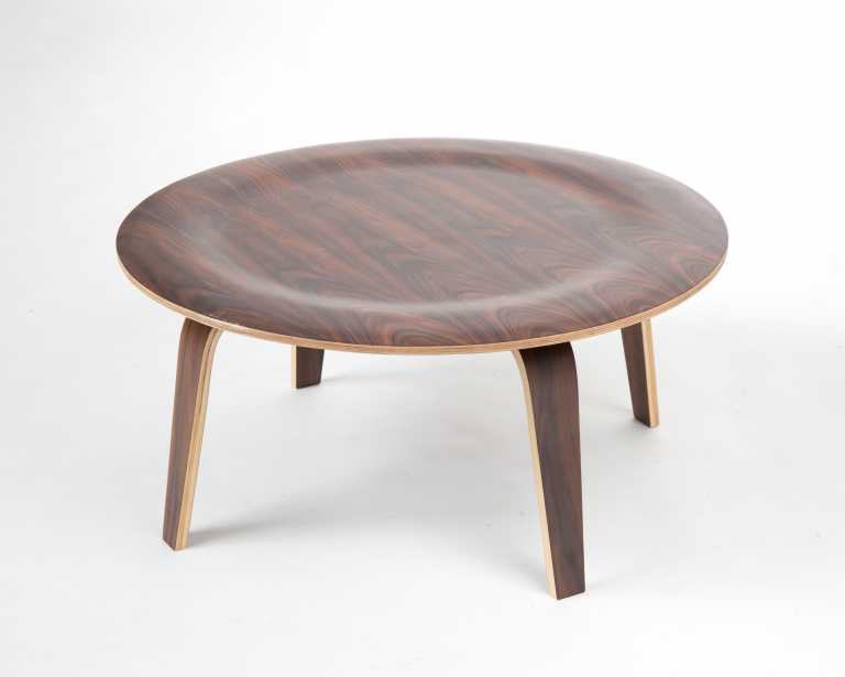 Molded Plywood Coffee Table Reproduction Mid Century Modern
