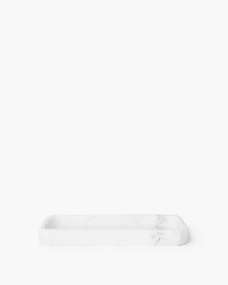 "Rectangular Marble Tray - 6"""