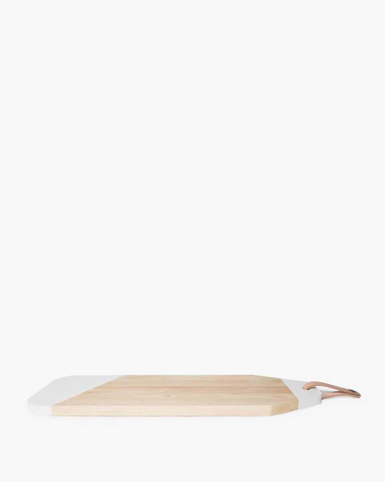 """Rubberwood Cheeseboard - 23.5"""""""