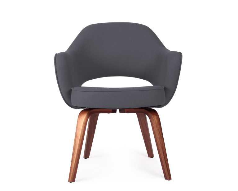 executive armchair  wood legs  rove concepts - rove classics