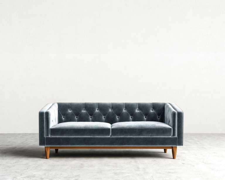 Scarlett Sofa Mid Century Modern Sofa