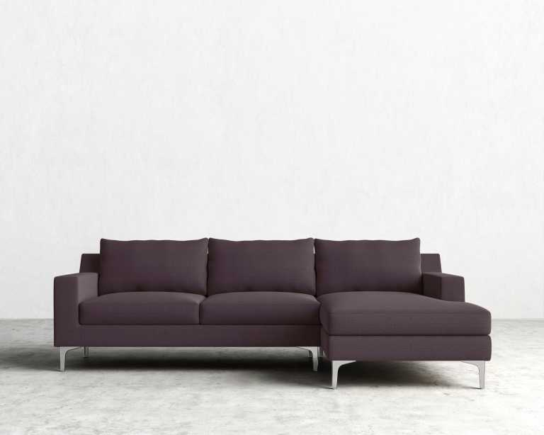 Plum Sectional Sofa & Slumberland Furniture - Quimby Collection .