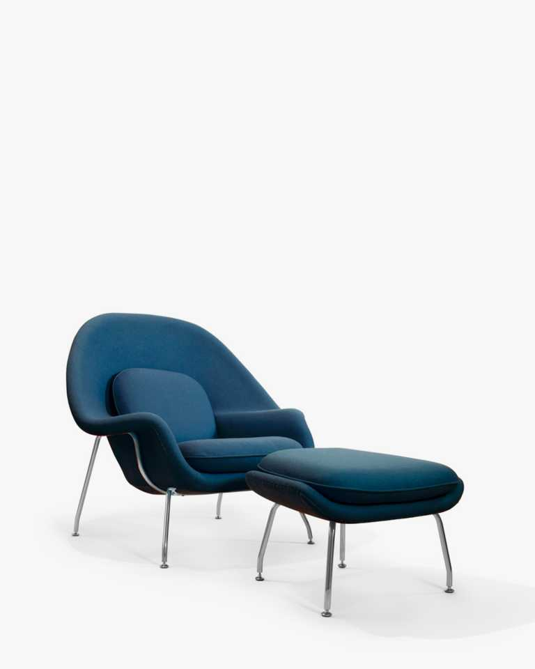 Womb Chair And Ottoman Rove Concepts