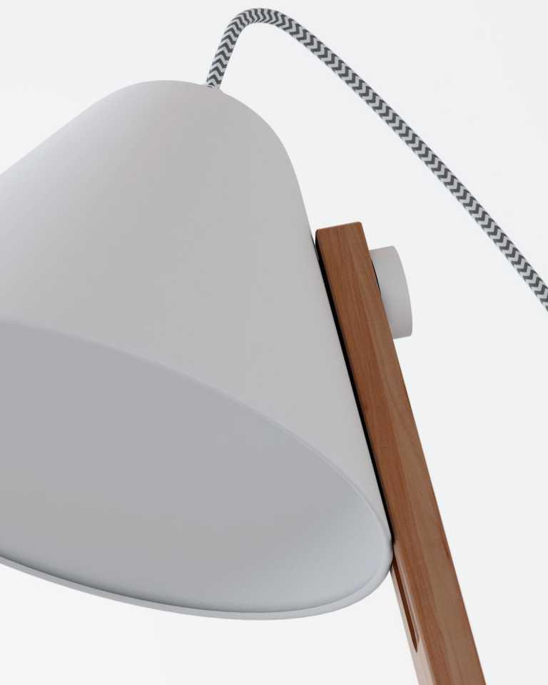 Beau Floor Lamp - White