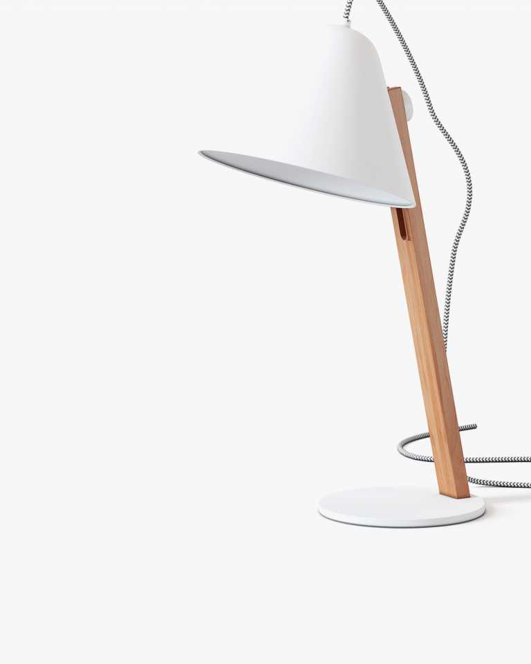 Beau Table Lamp - White