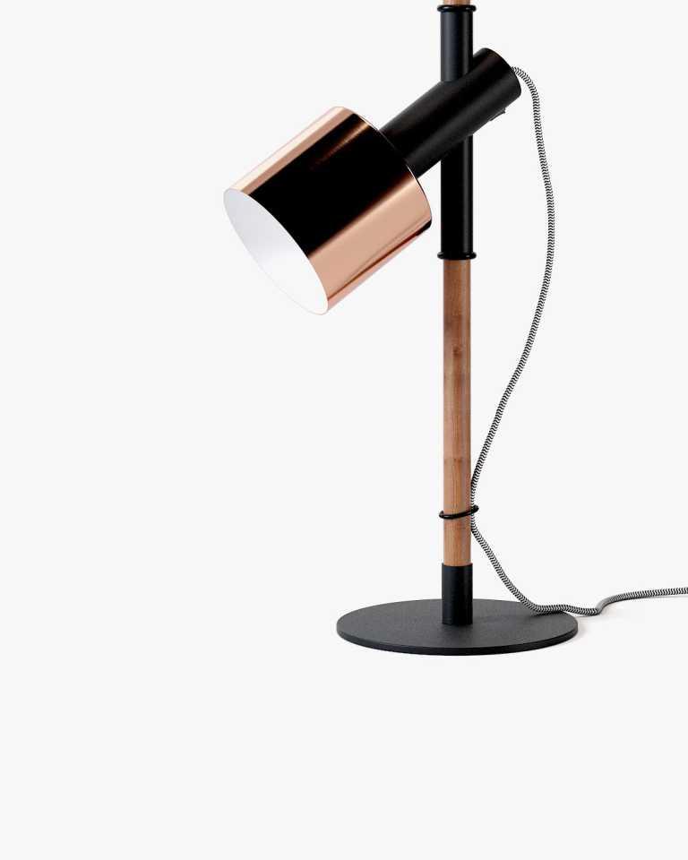Jasper Table Lamp - Copper/Black
