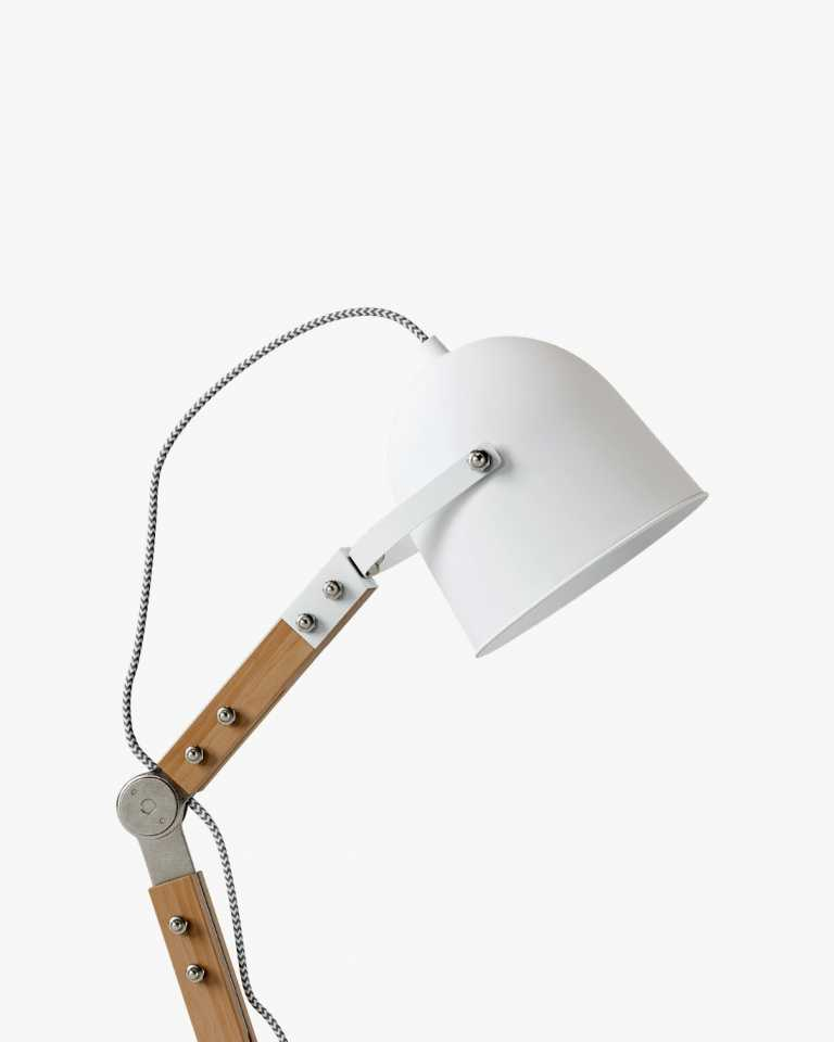 Wesley Table Lamp - White