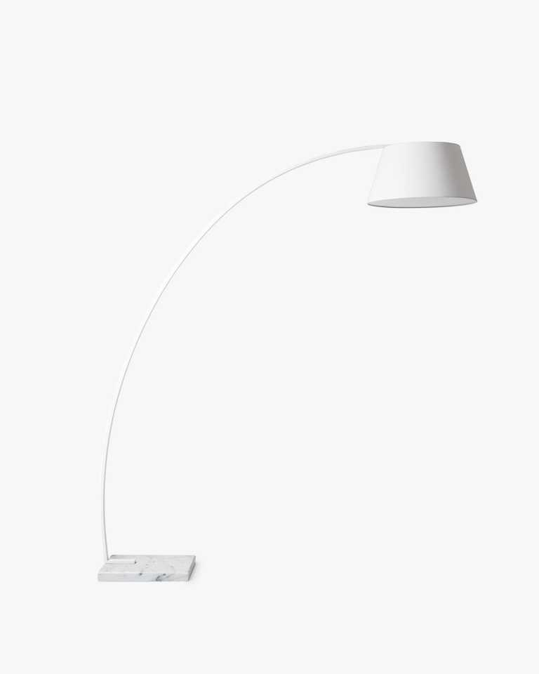 Arc Floor Lamp - White