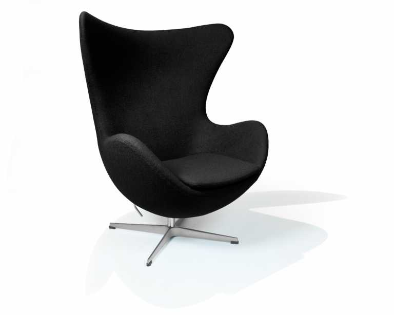 Arne jacobsen egg chair white - Rove Classics