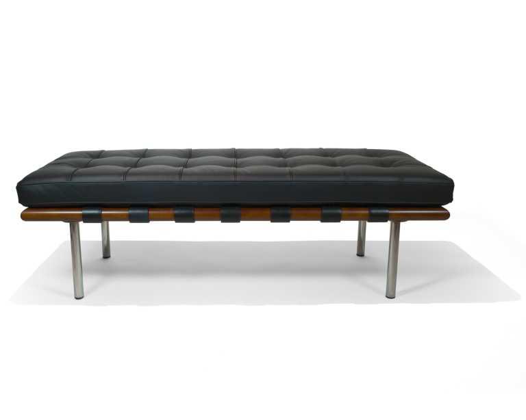barcelona bench  mies van der rohe  reproduction -