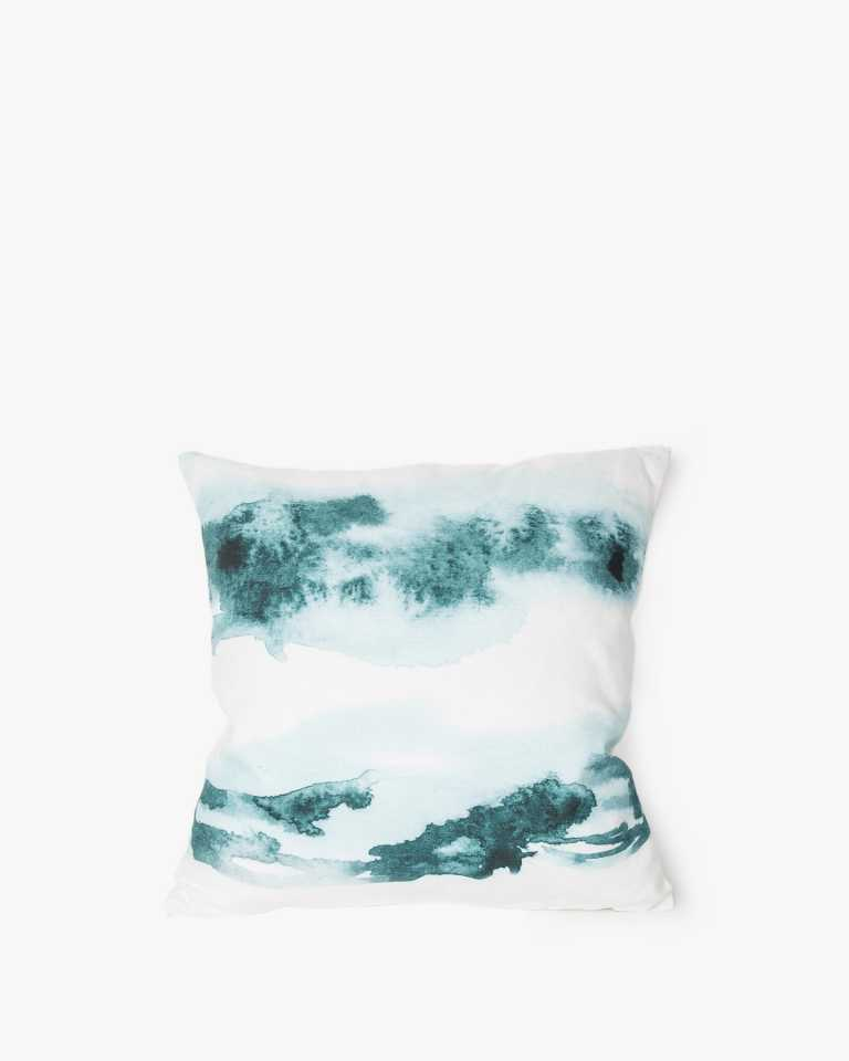 Printed Cushion - Amaranth