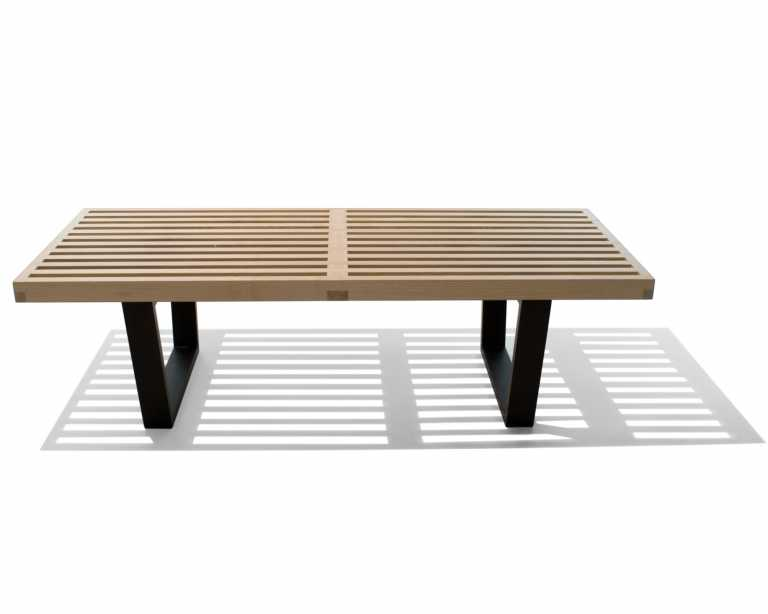 nelson platform bench  george nelson  midcentury modern -  coffee tables platform bench