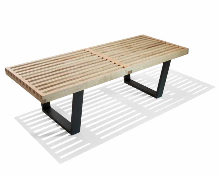 nelson platform bench  george nelson  midcentury modern - rove classics