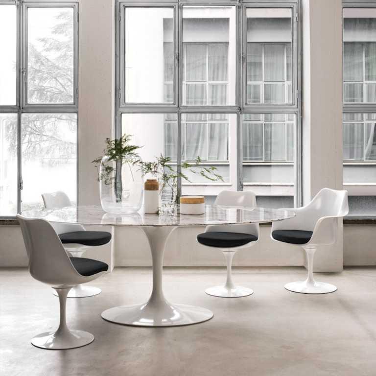 Tulip Armchair Rove Concepts - Rove concepts saarinen table