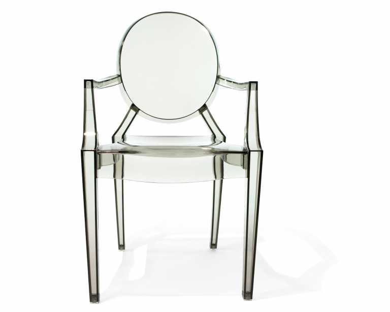 louis ghost armchair  philippe starck  reproduction -