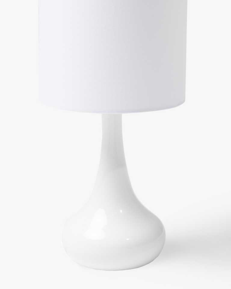 Teardrop Table Lamp - White