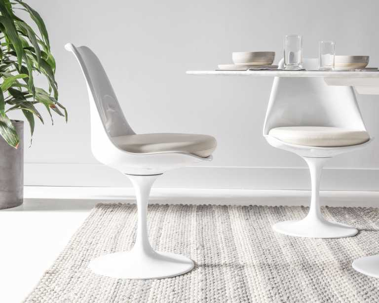 eero black saarinen tulip designer products voga replica chair