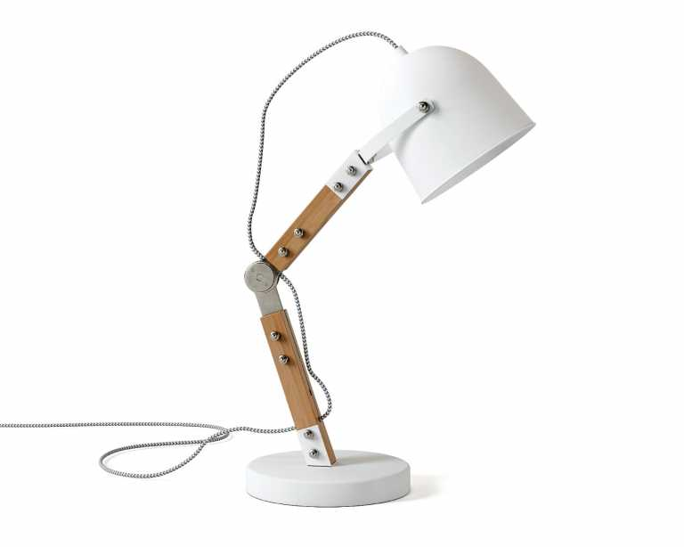 Wesley table lamp white mid century modern wesley table lamp white 129 geotapseo Images